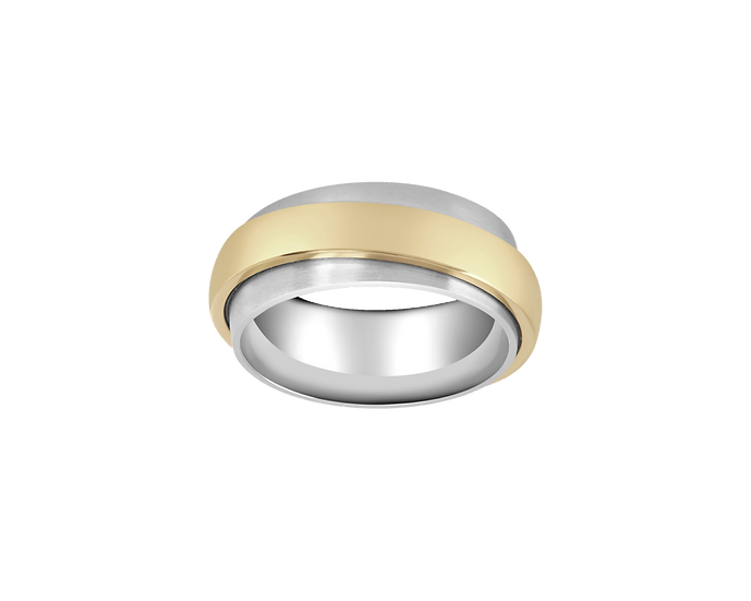 Double Gold Band - Men