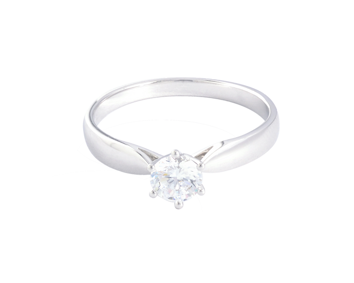.40 CT 6 Prong Solitaire Diamond Engagement Ring