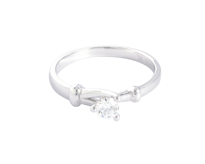.20 CT Diamond Split Shank Engagement Ring