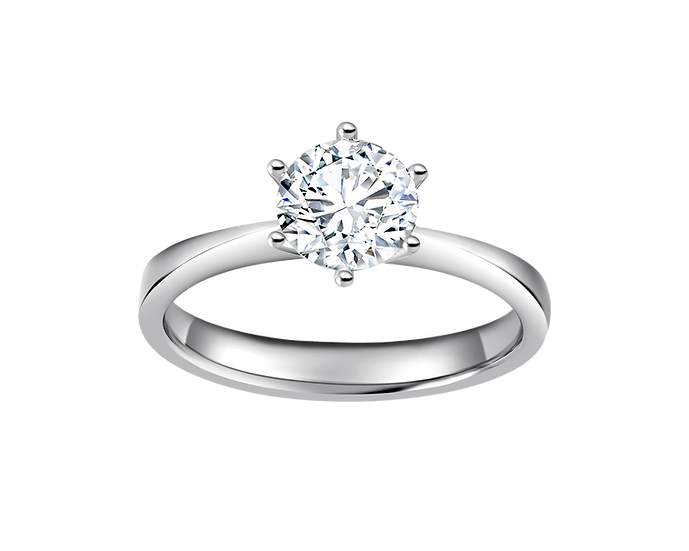 .80 CT Tapered Solitaire Engagement Ring
