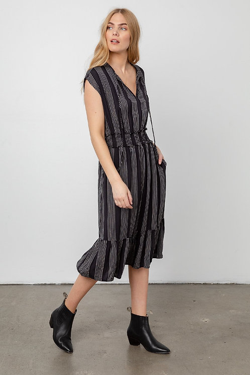 Rails Ashlyn Midi Dress in Sagrada Stripe