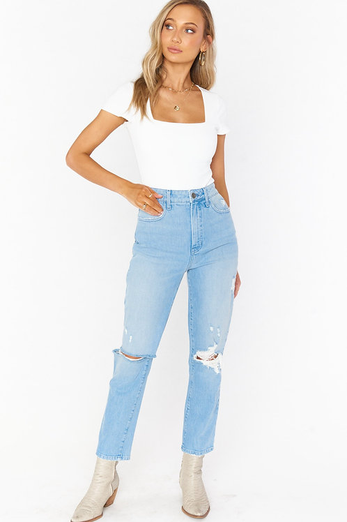 Show Me Your Mumu Midtown Straight Jeans