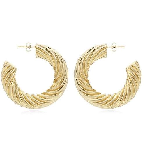 Jonesy Wood Design Esme Hoop Earrings
