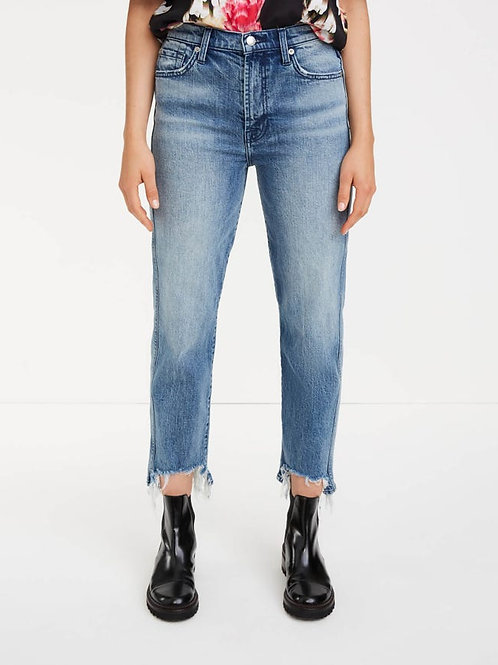 7 for All Mankind BB Denim High Waist Cropped Straight