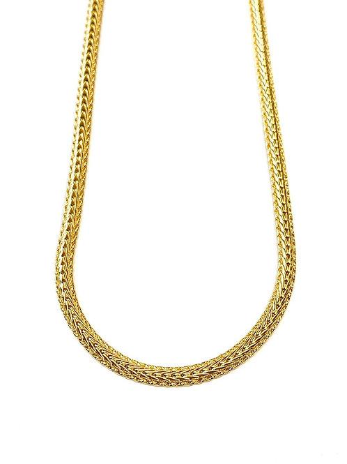 Jonesy Wood Design Blake Herringbone Chain Necklace