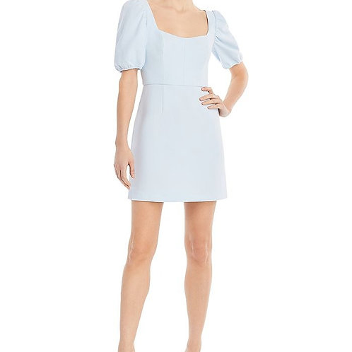 French Connection Berina Whisper Puff Sleeve Dress