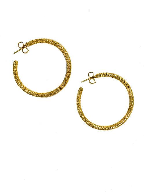 Jonesy Wood Design Margot Hoop Earrings