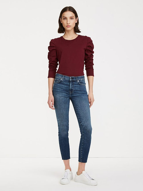 7 for All Mankind Slim Illusion Ankle Skinny Jean in Kent