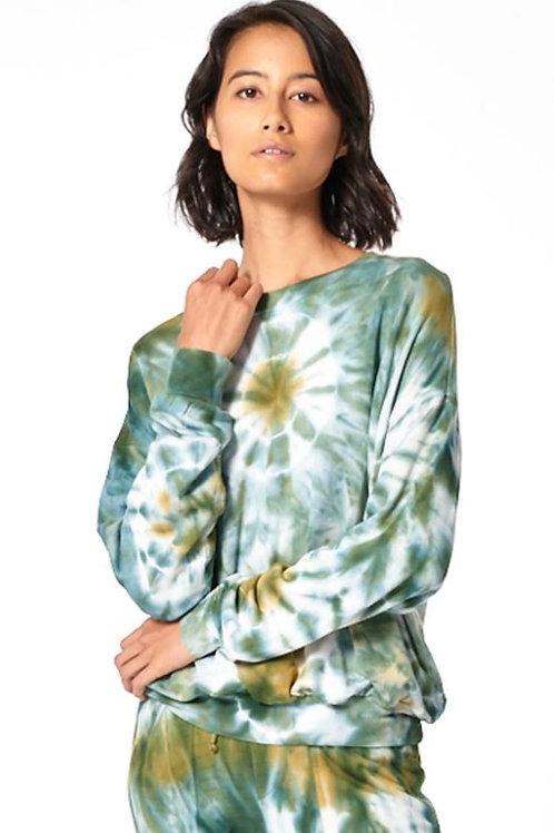 Young, Fabulous & Broke Coraline Tie Dye Sweatshirt