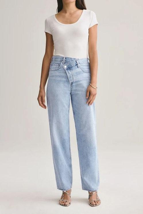 AGOLDE Criss Cross Upsized Jean in Suburbia