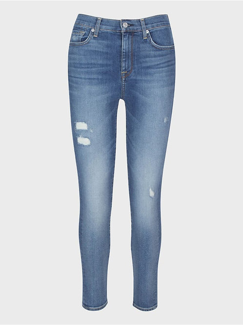 7 for All Mankind Luxe Vintage High Waist Ankle Skinny Jean