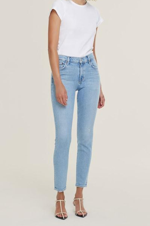 AGOLDE Sophie Mid Rise Skinny Ankle