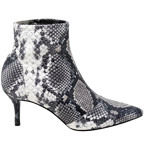 Charles by Charles David Amstel Pull-On Bootie in Snake Multi