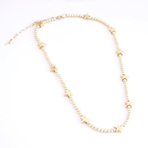 Marli & Lenny Beaded Star Necklace