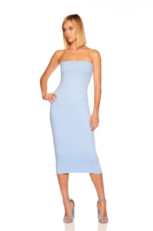 Susana Monaco Midi Strapless Tube Dress