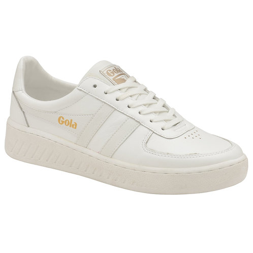 Gola Classics Grandslam Leather Sneakers in White