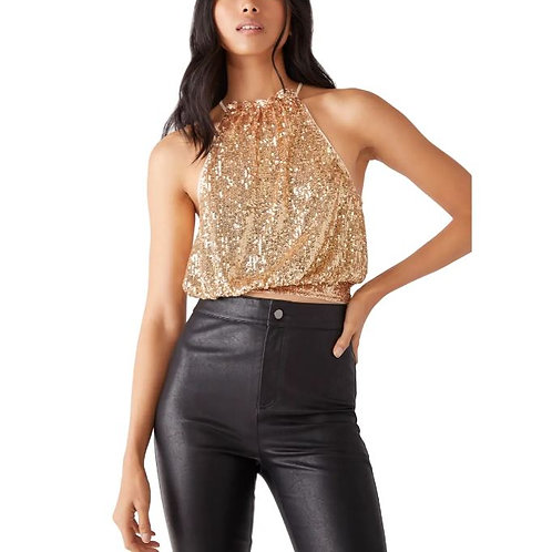 Free People Lights Out Halter in Neutral Combo