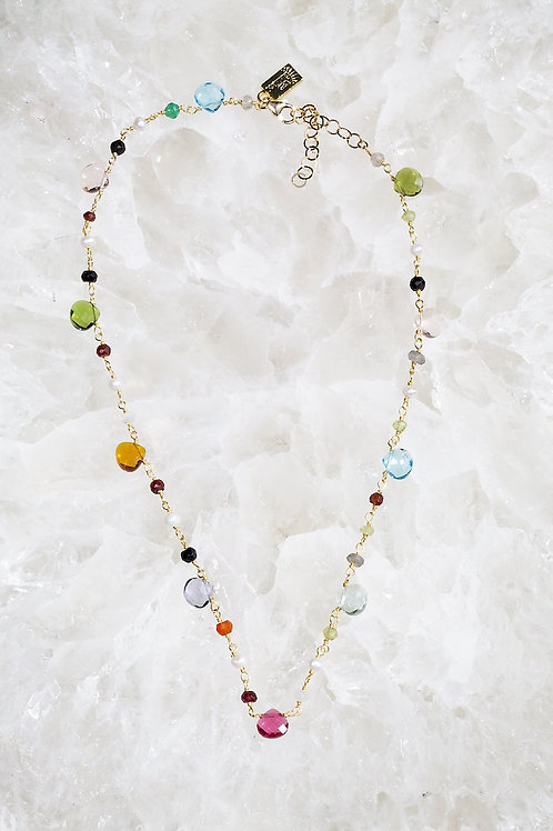 Native Gem Gum Drop Necklace