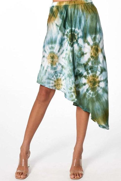 Young, Fabulous & Broke Margaux Skirt in Winter Leaf Venus