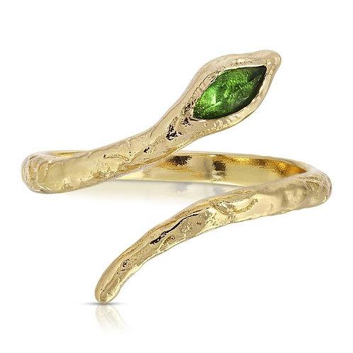 Elizabeth Stone Mystic Serpent Ring