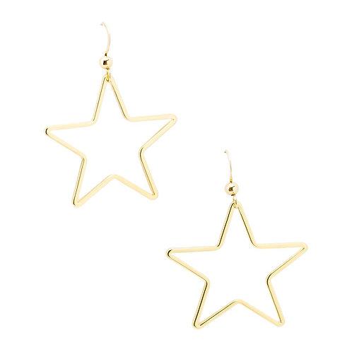 Marli & Lenny Single Star Earrings