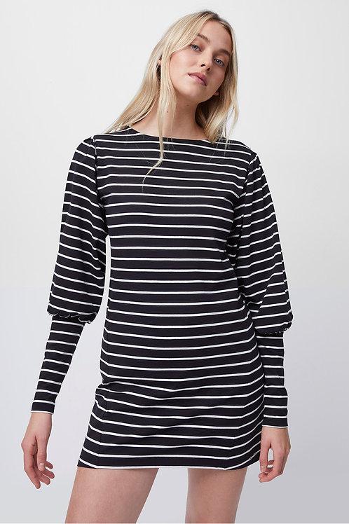 French Connection Sally Breton Stripe Jersey Dress