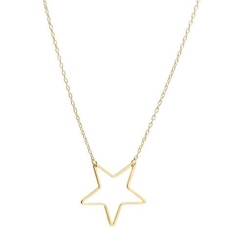 Marli & Lenny Single Star Necklace