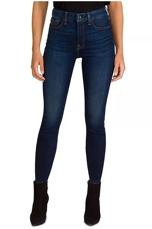 JEN7 by 7 for All Mankind High Rise Skinny Jeans in Lexington
