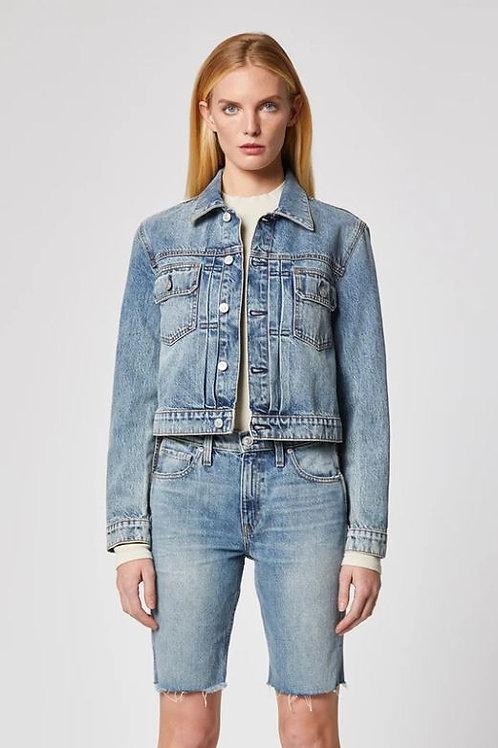 Hudson Lola Shrunken Denim Jacket