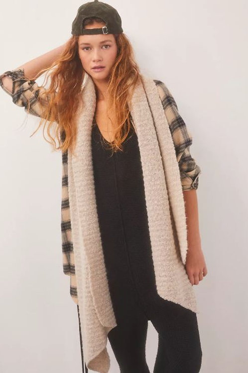 Free People Ripple Recycled Blend Blanket Scarf