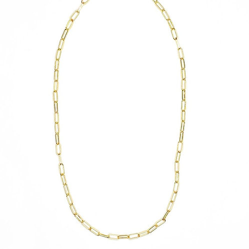 Jonesy Wood Design Paperclip Layering Chain Necklace