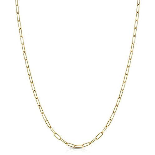 Elizabeth Stone Oval Link Layering Chain