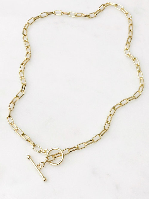 The Lucky Collective Toggle Chain Necklace