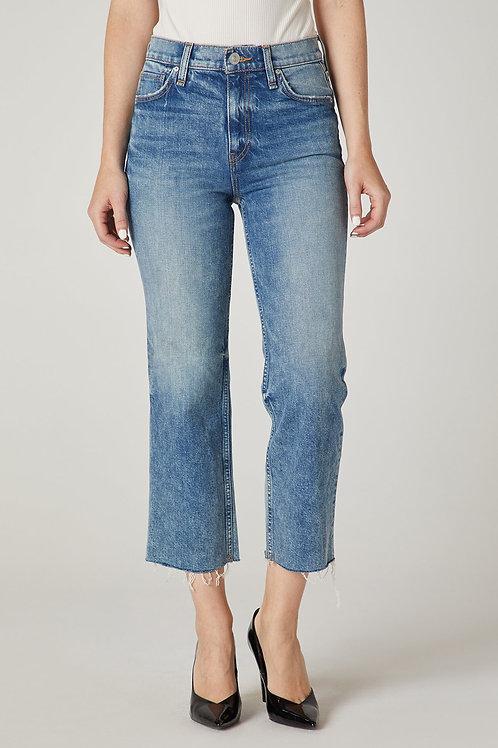 Hudson Remi High-Rise Straight Crop Jean in Sweet Dreams