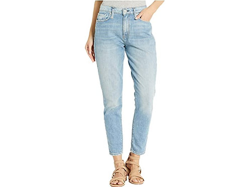 Hudson Bettie High-Rise Taper Jeans in Push It