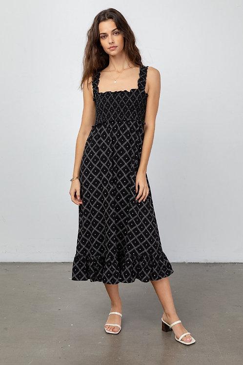 Rails Sigird Midi Dress in Zanzibar
