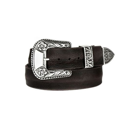 Brave Leather Isabeli Western Buckle Belt