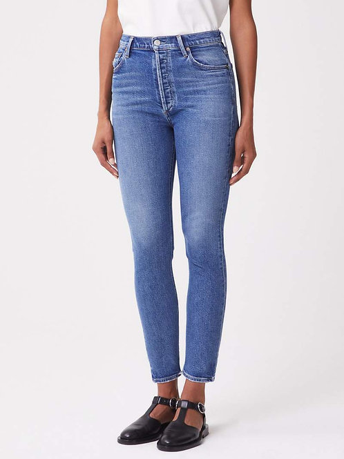 AGOLDE Nico High Rise Slim Fit in Betray