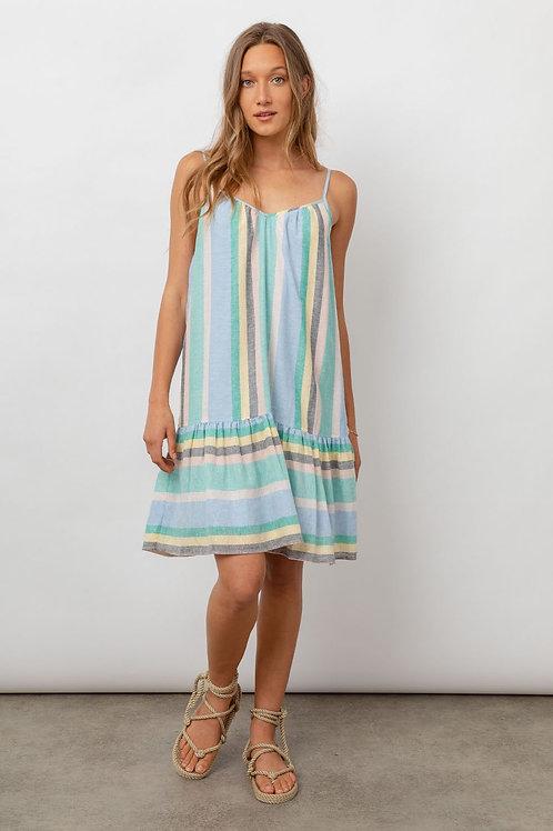 Rails Ari Jamaica Stripe Mini Dress