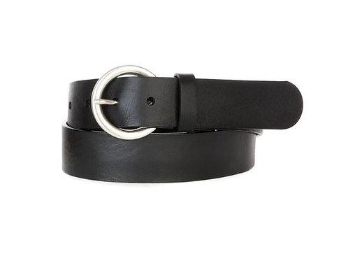 Brave Leather Milena Circle Buckle Belt