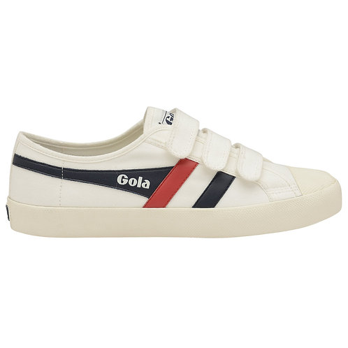Gola Classics Coaster Velcro Sneaker in Navy/Red