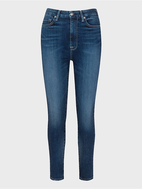 7 for All Mankind Aubrey High Rise Skinny in Plymouth