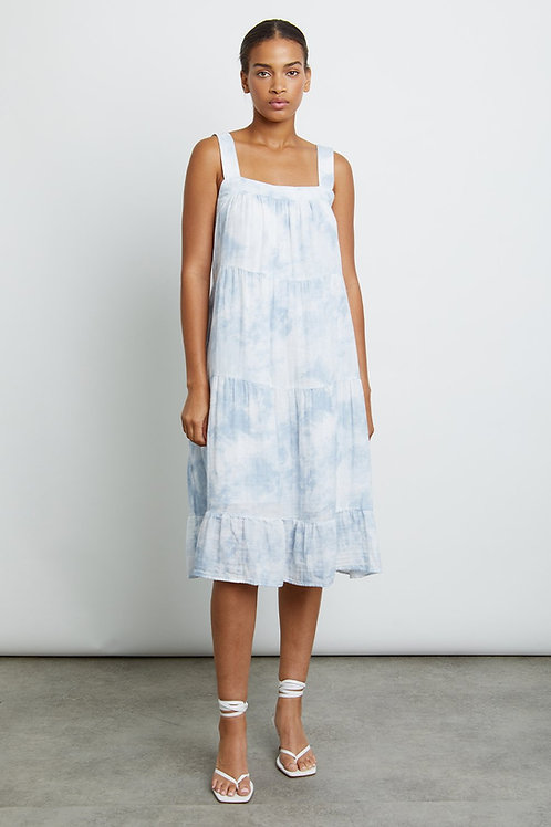 Rails Amaya Cotton Gauze Midi Dress