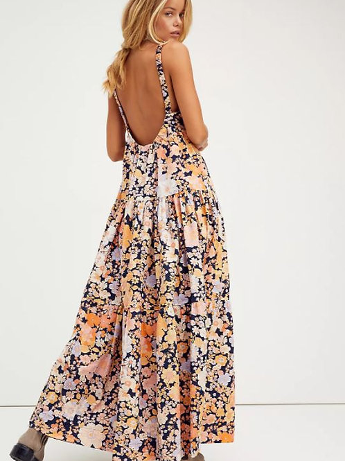 Free People Park Slope Maxi Dress