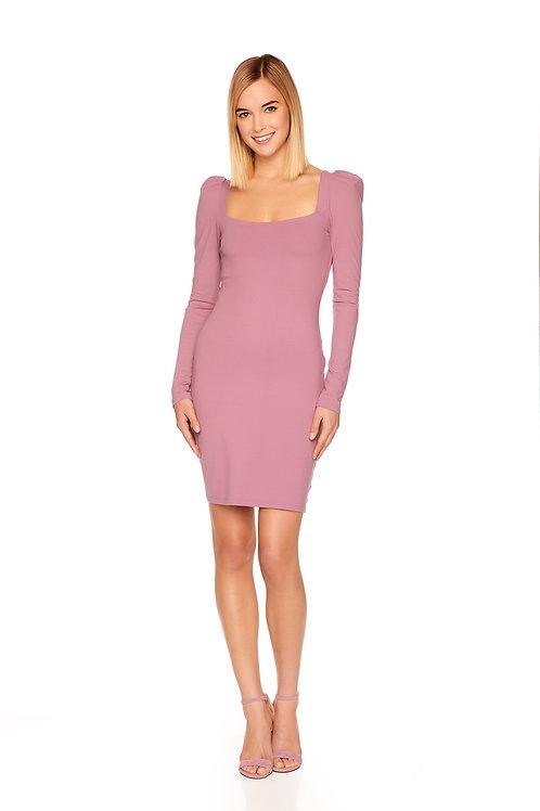 Susana Monaco Puff Long Sleeve Dress