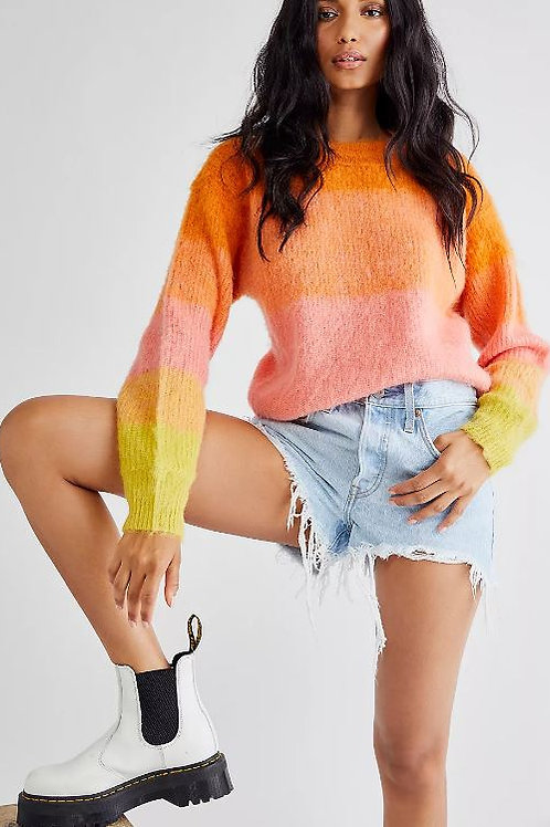 Free People Autumn Sky Pullover