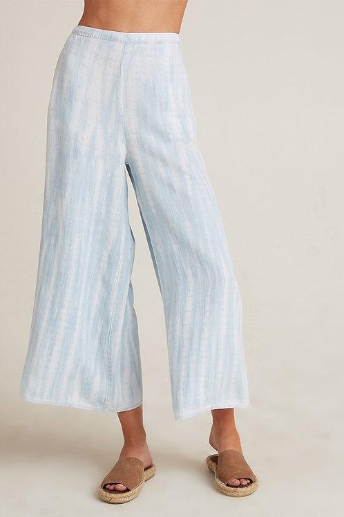 Bella Dahl Flowy Wide Leg Crop Pant in Vintage Havana Wash