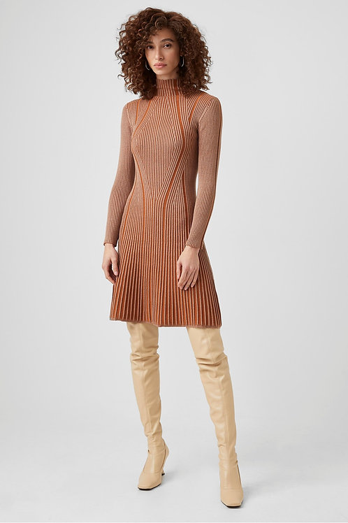French Connection Mari Rib Mini Dress