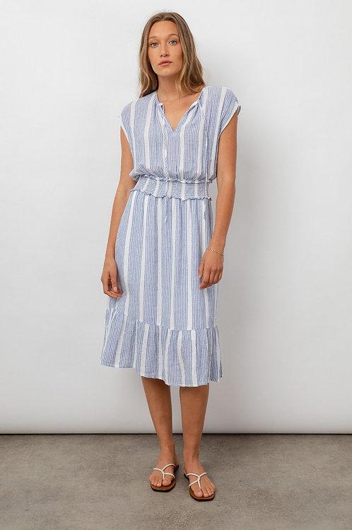 Rails Ashlyn Linen Midi Dress