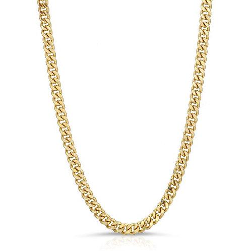 Elizabeth Stone Curb Chain Necklace